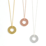 MyIntent Refill Dainty Necklace all color Gold Plated, Silver Plated and Rose Gold Plated