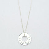 MyIntent Custom Dainty Necklace Silver Plated Color