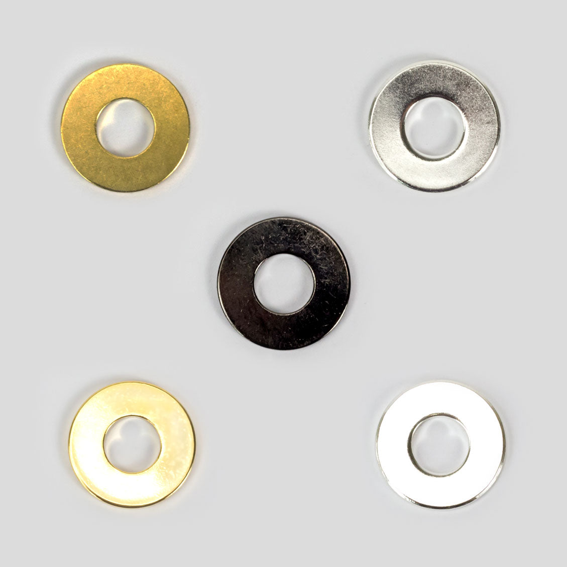 MyIntent Refill Tokens in Brass, Nickel, Gold, Silver, & Black Nickel