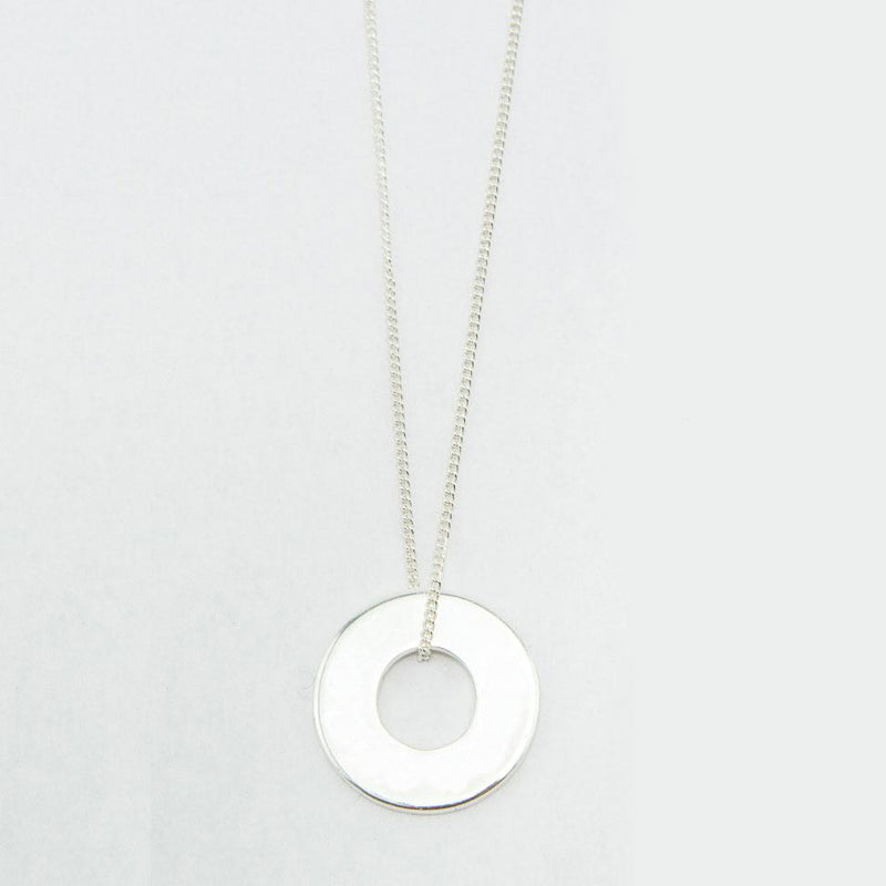 MyIntent Refill Dainty Necklace Silver Plated Color
