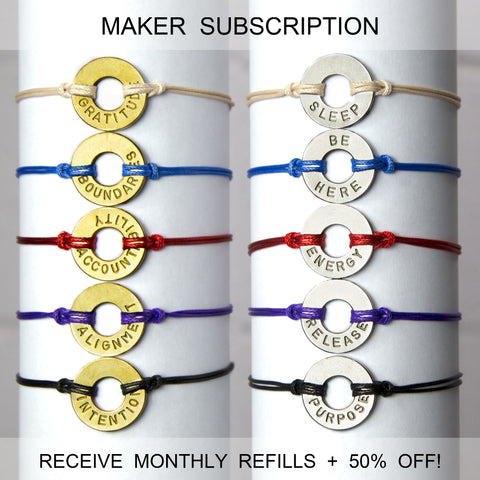 Refill - Classic Bracelet - Monthly Subscription