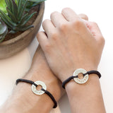 Custom Round Bracelet Set of 2