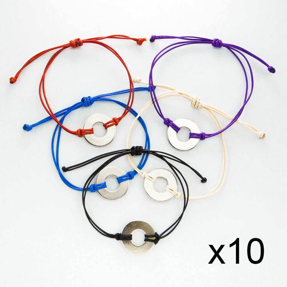 MyIntent Refill Classic Bracelets in All Colors set of 10 both with Nickel tokens