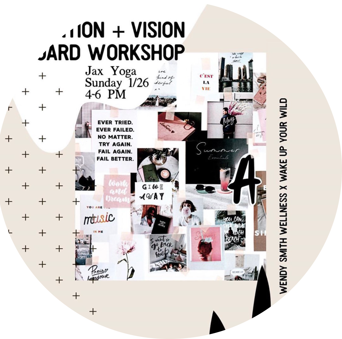 MyIntent can be used as part of a special workshop, such as word of the year and vision boarding!