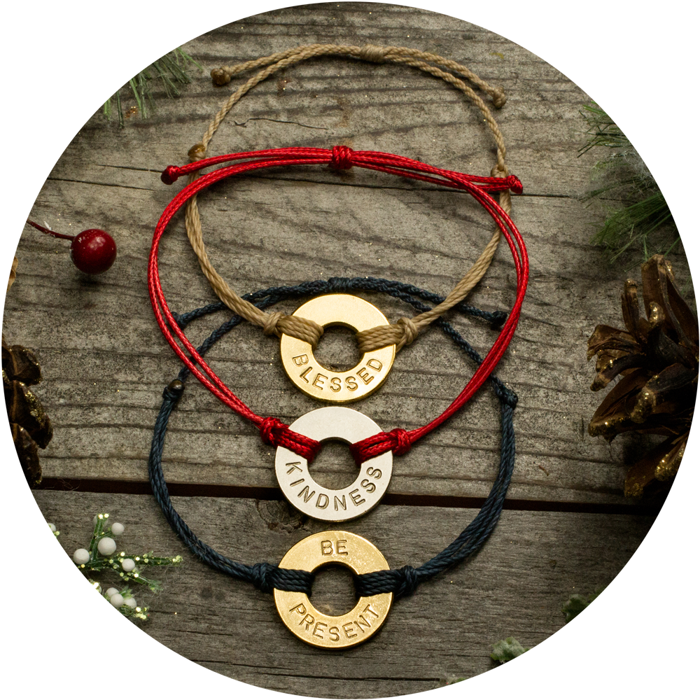 MyIntent Holiday Products - MyIntent bracelets in various colors and styles
