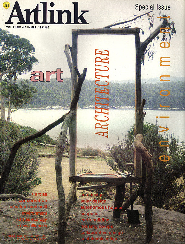 Issue 11:4 | December 1991 | Art, Architecture & the Environment
