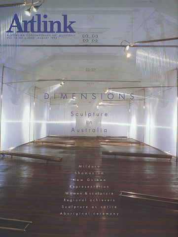 Issue 13:2 | June 1993 | Dimensions: Sculpture in Australia