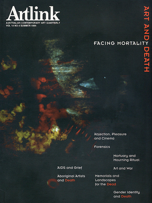 Issue 14:4 | December 1994 | Art & Death: Facing Mortality