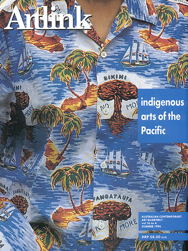 Issue 16:4 | December 1996 | Indigenous Arts of the Pacific