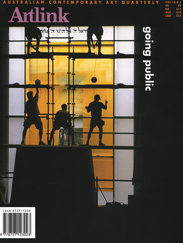 Issue 18:2 | June 1998 | Public Art in Australia