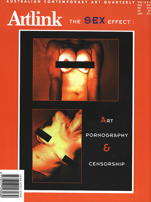 Issue 18:3 | September 1998 | Art, Pornography & Censorship
