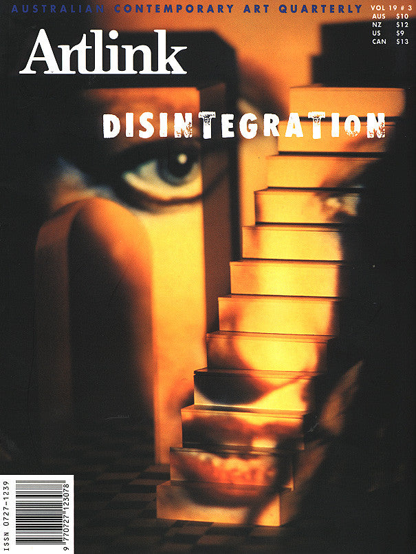 Issue 19:3 | September 1999 | Disintegration