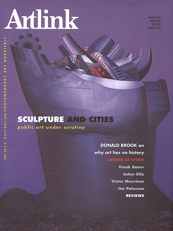 Issue 20:4 | December 2000 | Sculpture and Cities