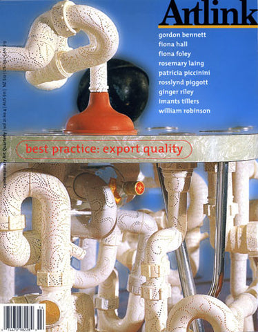 Issue 21:4 | December 2001 | Best Practice: Export Quality