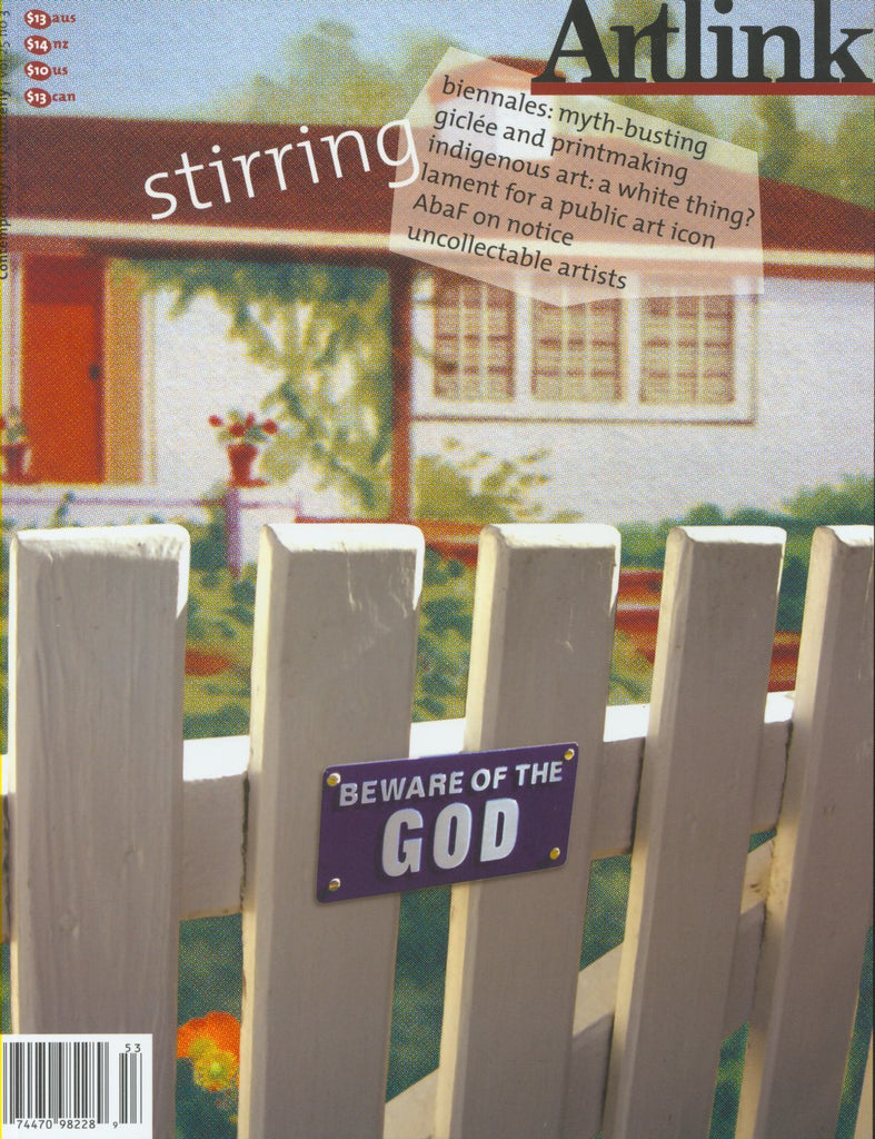Issue 25:3 | September 2005 | Stirring