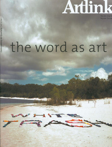 Issue 27:1 | March 2007 | The Word As Art