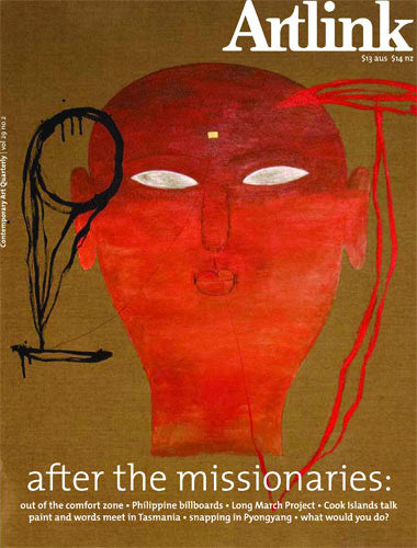 Issue 29:2 | June 2009 | After the Missionaries: art in a bilateral world