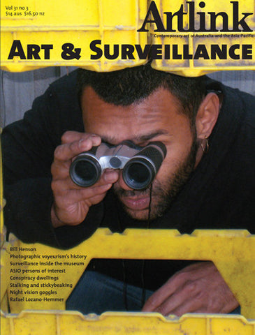 Issue 31:3 | September 2011 | Art & Surveillance