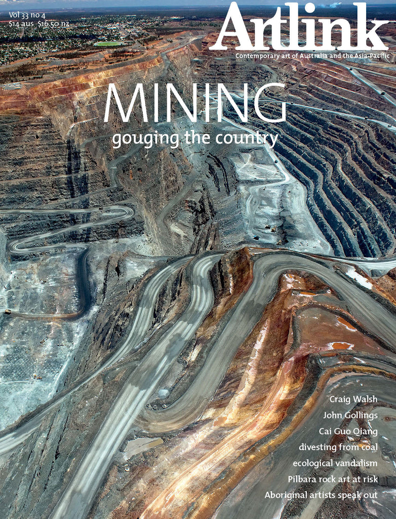 Issue 33:4 | December 2013 | Mining: gouging the country