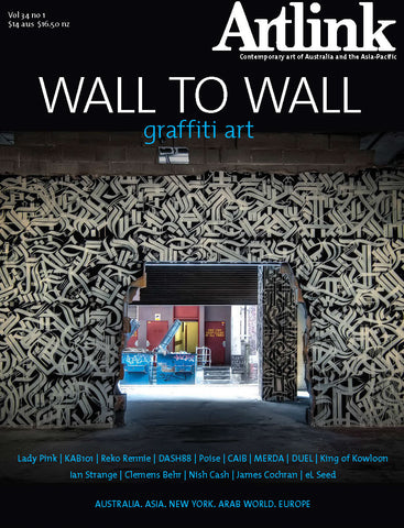 Issue 34:1 | March 2014 | Wall to wall: graffiti art