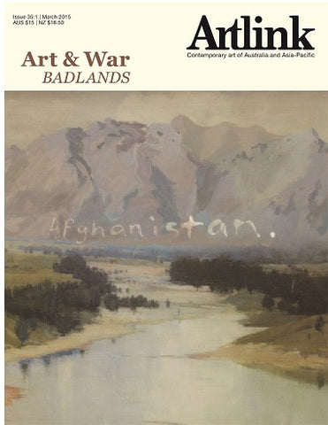 Issue 35:1 | March 2015 | Art & War: Badlands