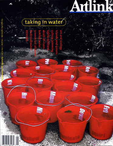 Issue 21:1 | March 2001 | Taking in Water