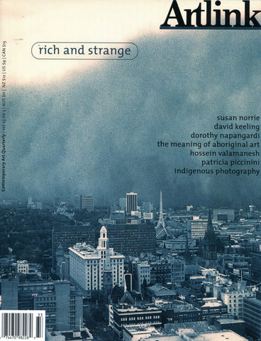 Issue 23:3 | September 2003 | Rich & Strange