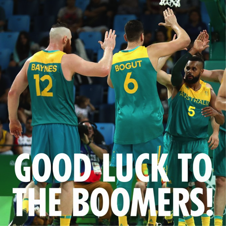 Are we feeling very Olympic? Finals time for Our Aussie Hoopers!