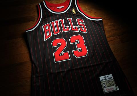 Michael Jordan's Legacy - The Authentic Jersey Evolution