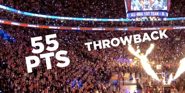 Taking a look back at Allen Iverson's  55 point playoff game.