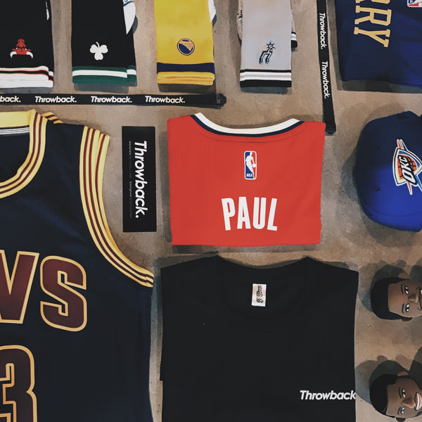 Throwback Store NBA Playoffs Competition Flatlay