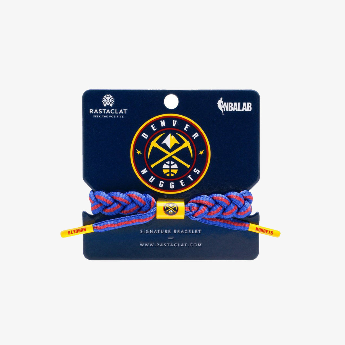 Rastaclat NBA Bracelet - Denver Nuggets (Home)