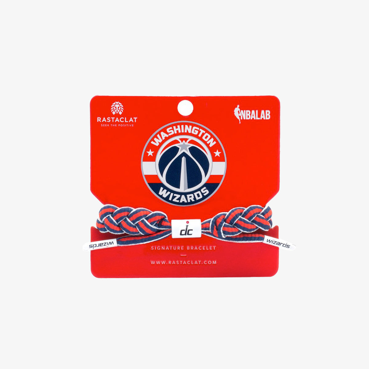 Rastaclat NBA Bracelet - Washington Wizards