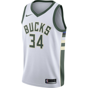 Giannis Antetokounmpo Milwaukee Bucks Association Edition Swingman Jersey - Throwback Store