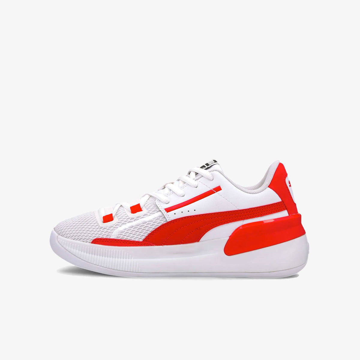 Clyde Hardwood Team Junior - White/High Red