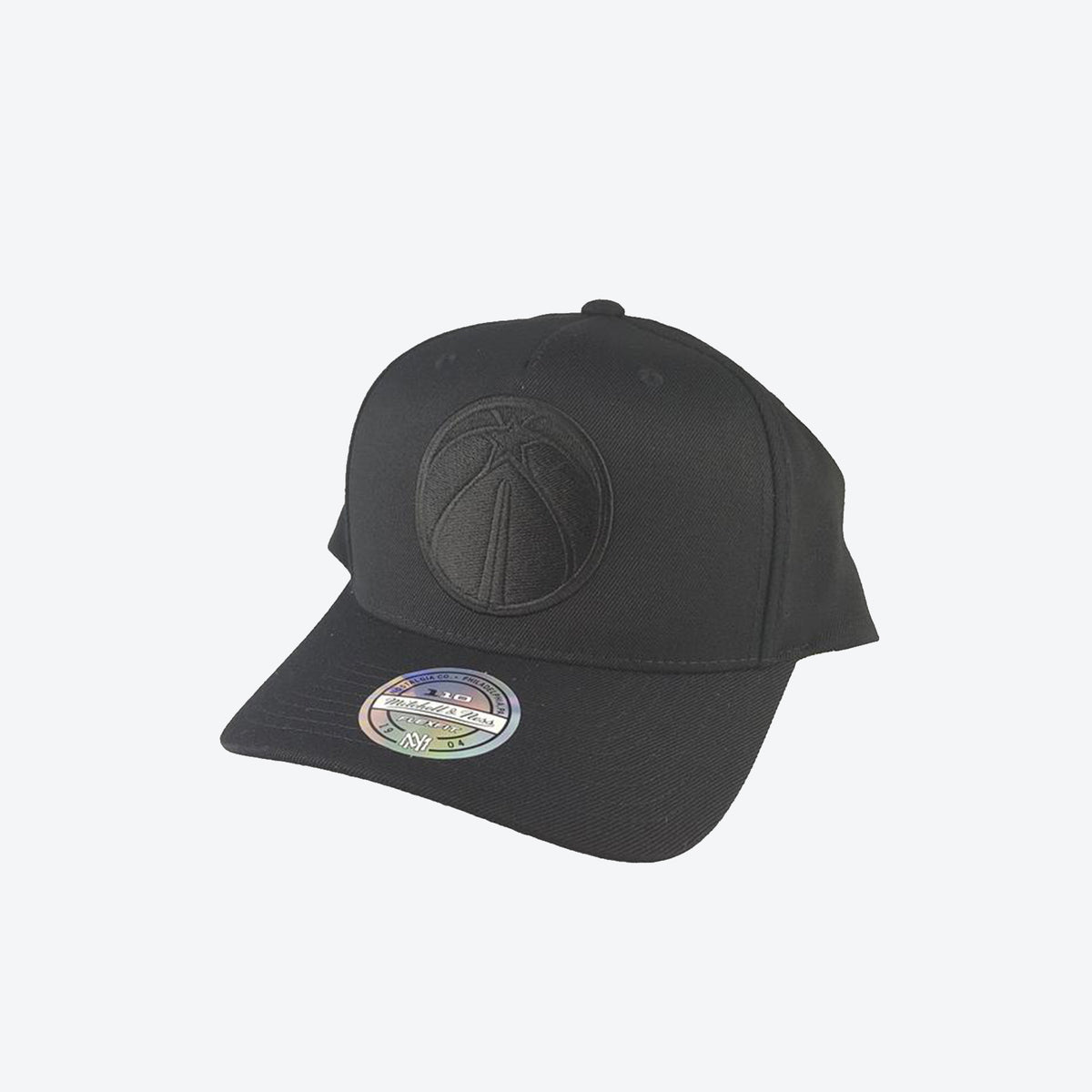 Washington Wizards All Black Logo 110 Snapback
