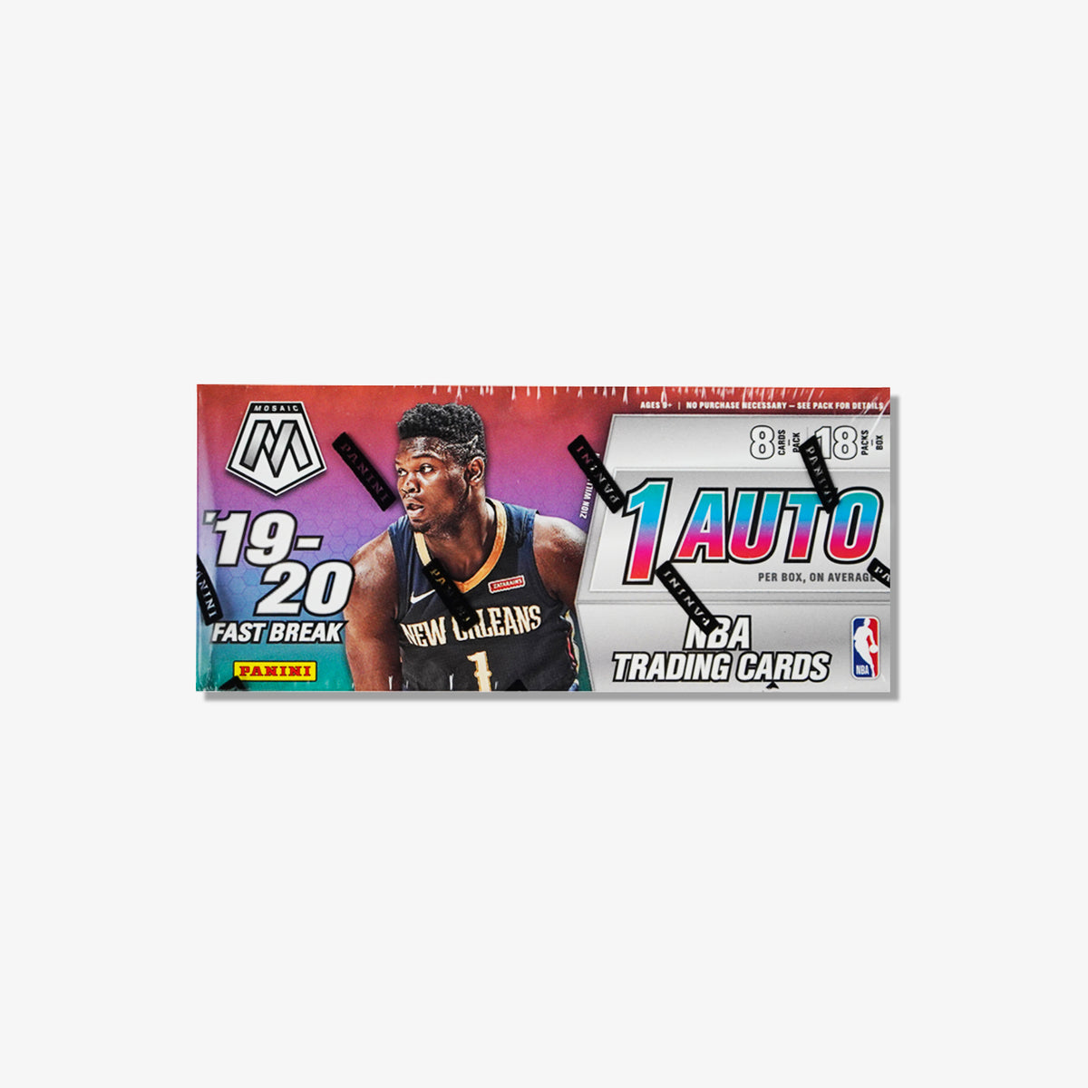 2019/20 Panini Mosaic Fast Break Basketball Hobby Box