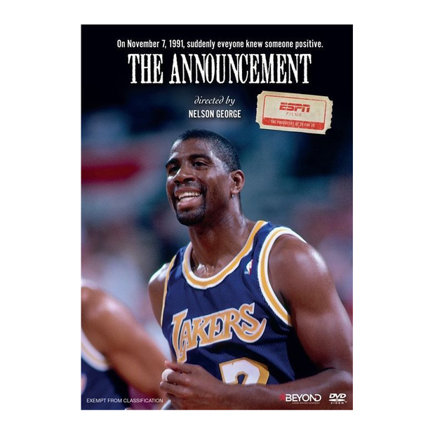ESPN 30 For 30 Series: The Announcement - Magic Johnson DVD - Throwback Store