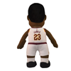 "Bleacher Creatures Superstar Cleveland Cavaliers LeBron James 10"" Plush FIgure - White - Throwback Store"