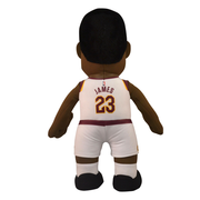"Bleacher Creatures Superstar Cleveland Cavaliers LeBron James 10"" Plush FIgure - White"