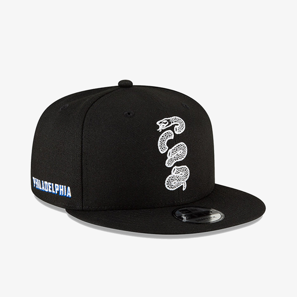 Philadelphia 76ers City Edition 950 Snapback - Black