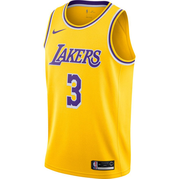 Anthony Davis Los Angeles Lakers Icon Edition Swingman Jersey