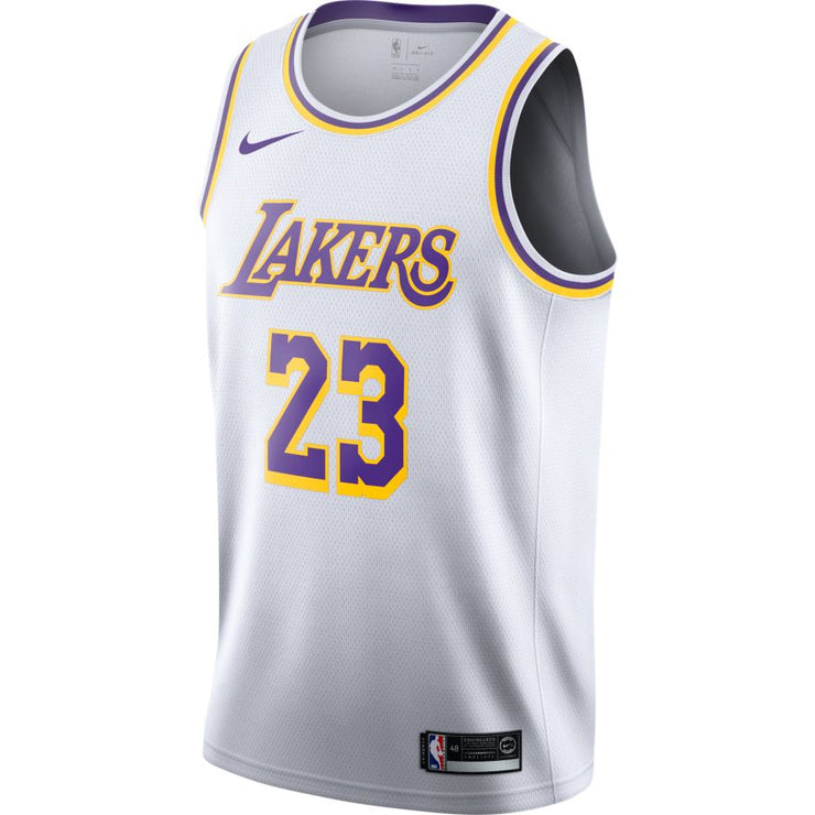LeBron James Los Angeles Lakers Association Edition Swingman Jersey