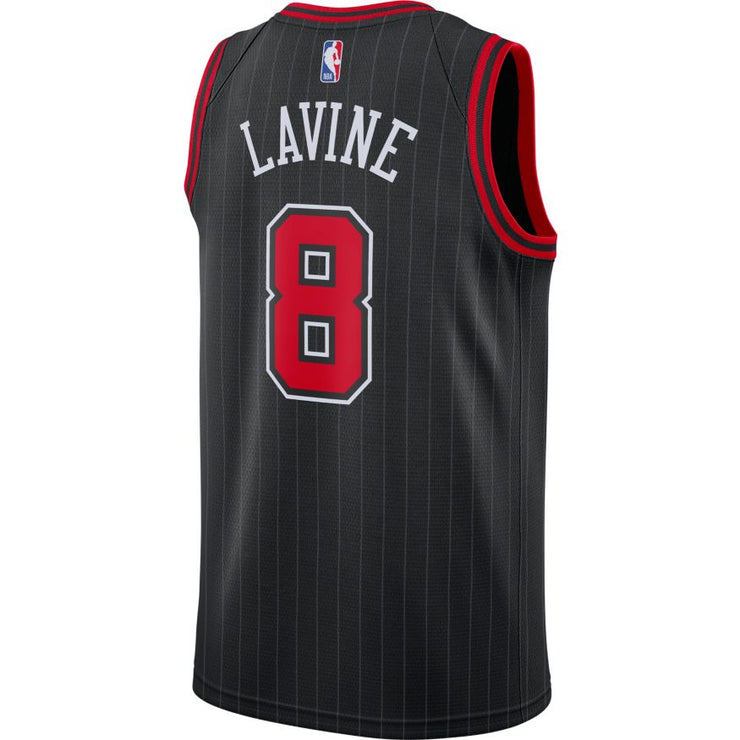 Zach Lavine Chicago Bulls Statement Edition Swingman Jersey - Black