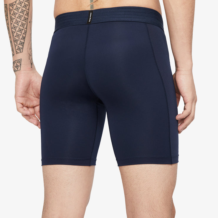 Nike Pro Men's Shorts - Navy/White