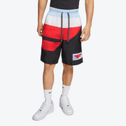 Nike Flight Shorts - Black/White/Red/Blue