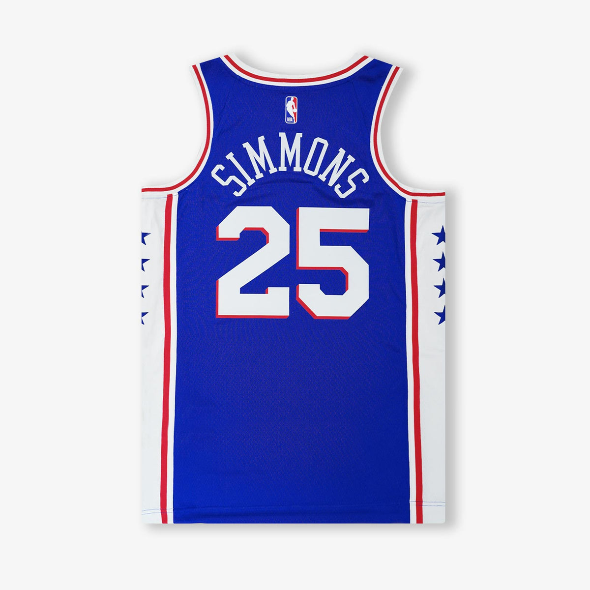 Ben Simmons Philadelphia 76ers Icon Edition Swingman Jersey - Blue