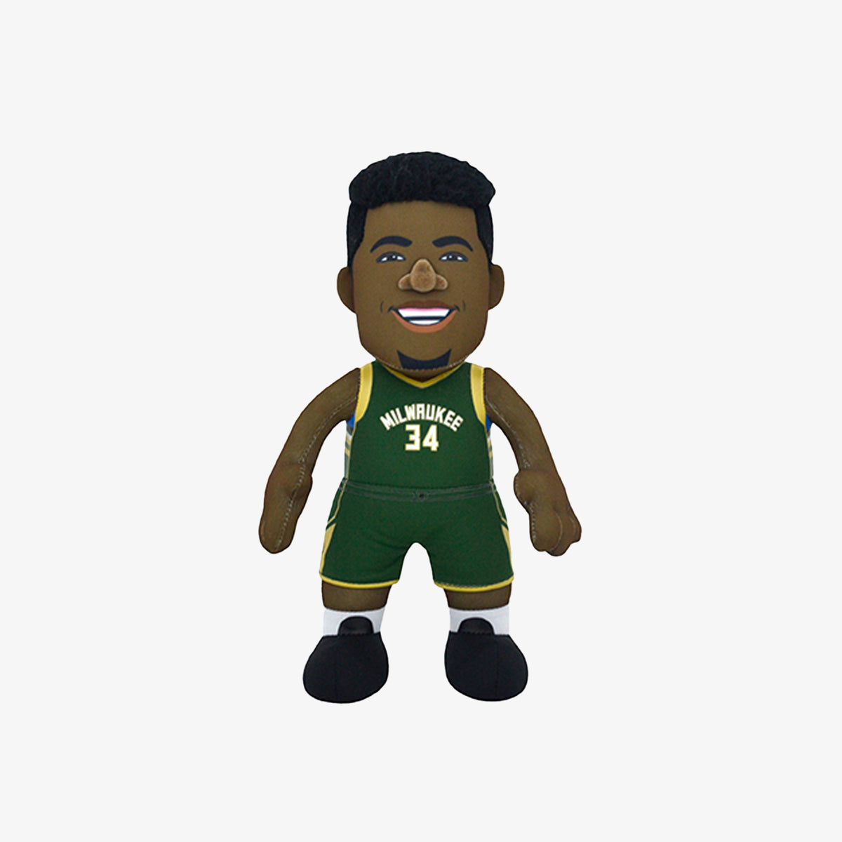Bleacher Creature Superstar Milwaukee Bucks Giannis Antetokounmpo 10 Plush Figure - Green