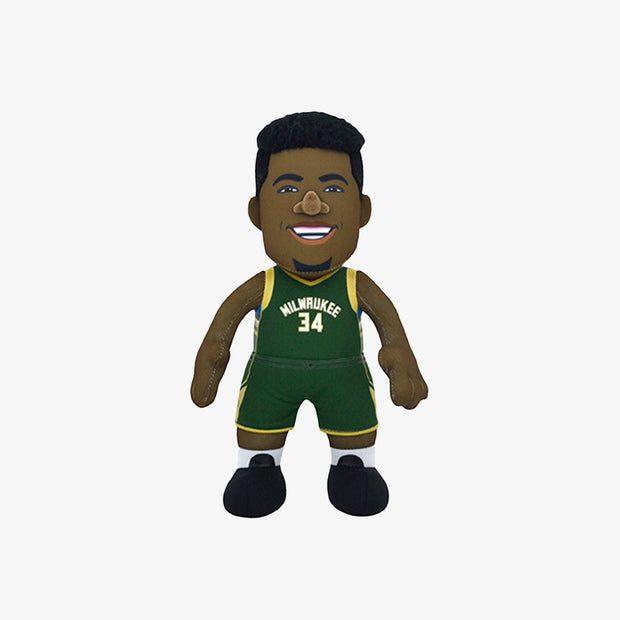 Bleacher Creature Superstar Milwaukee Bucks Giannis Antetokounmpo 10 Plush Figure - Black