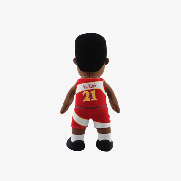 "Bleacher Creatures Legend Atlanta Hawks Dominique Wilkins 10"" Plush Figure - Red"